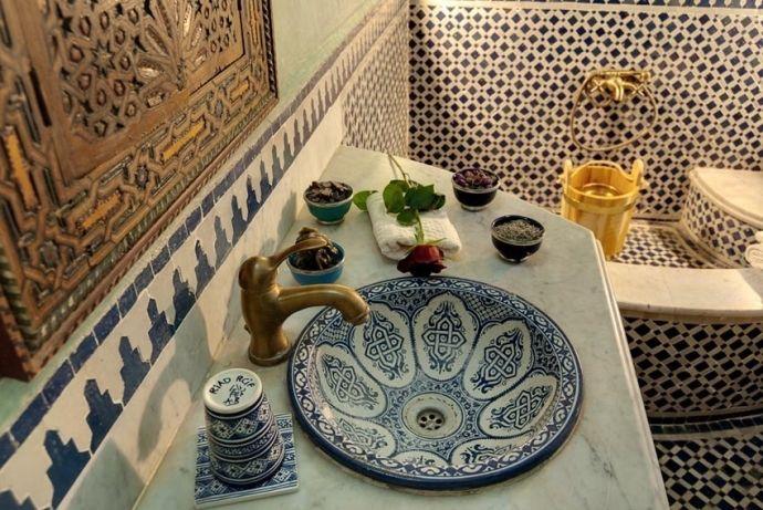 Невероятно красивый дизайн ванных комнат в марокканском стиле - Дизайн интерьеров | Идеи вашего дома | Lodgers
