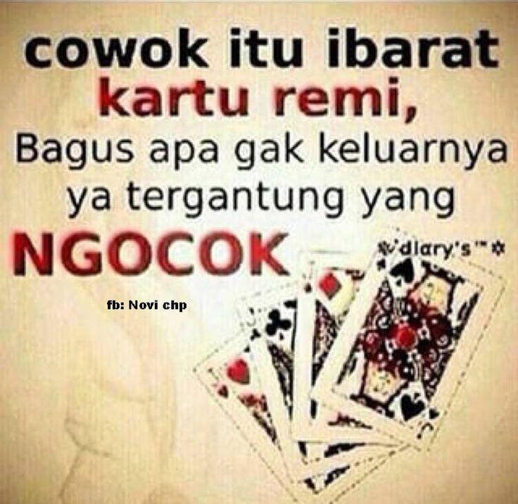 cowok adalah kartu remi #hiburan #ngakak #ngakakbanget #lucu #lucubanget #dagelan #pathindo #pathindonesia #kocak #memecomic #gambarlucu #fotolucu #luculucuan #gambarkocak #beritakocak #ketawa #humor #galau #obatgalau #antigalau #jakarta #beritahumor #unik #fotounik #gambarunik #kadounik #gokil #dagelan
