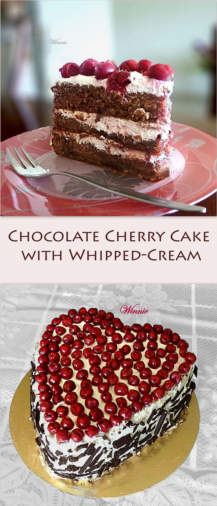 chocolate cherry bombs made with chocolate cake chocolate or white ...