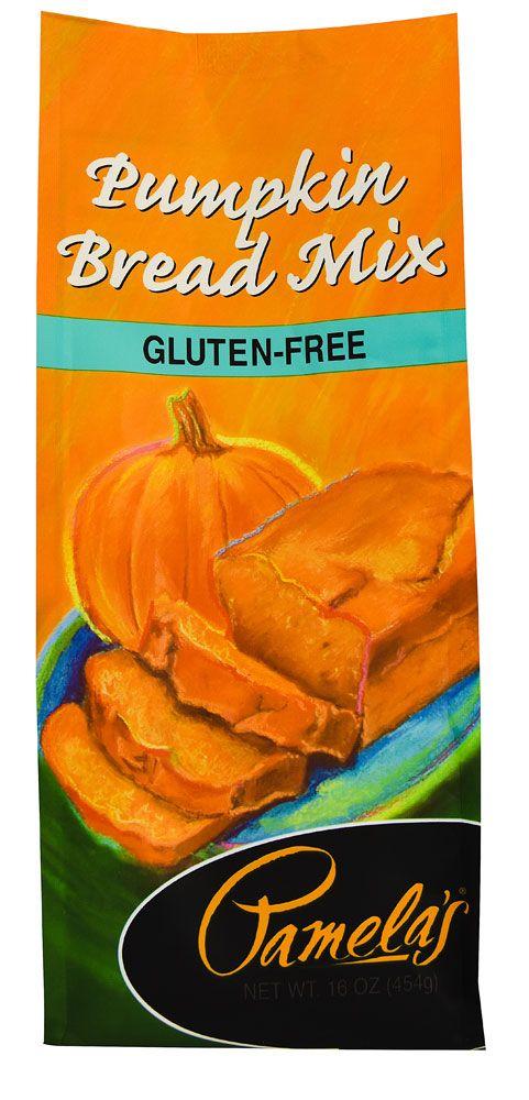 Pamela's Products Gluten Free Bread Mix Pumpkin