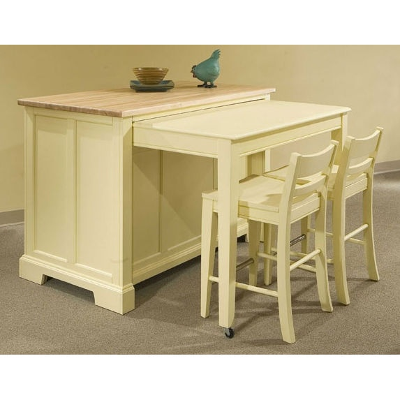 ... Kitchen Island With Pull Out Table