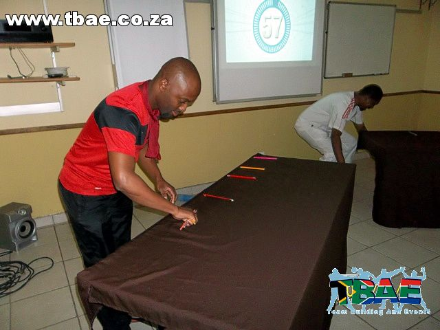 Anglo American Corporate Fun Day and Minute To Win It Team Building Rustenburg