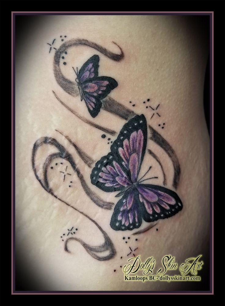 49++ Best White butterfly tattoo on black skin ideas