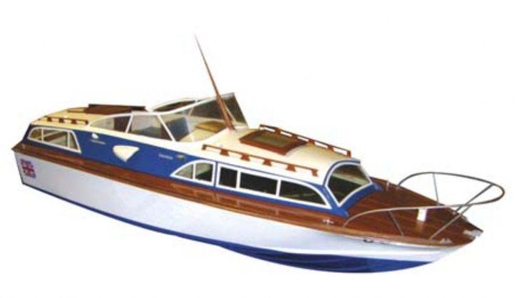 Fairey Huntsman Radio controlled Model Boat Kit | Hobbies The classic Precedent Fairey Huntsman ...