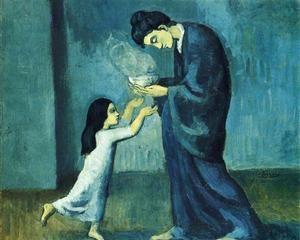 The soup - Pablo Picasso