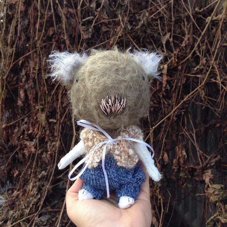 A personal favorite from my Etsy shop https://www.etsy.com/listing/494382095/koala-teddy-bear-artist-toy-stuffed