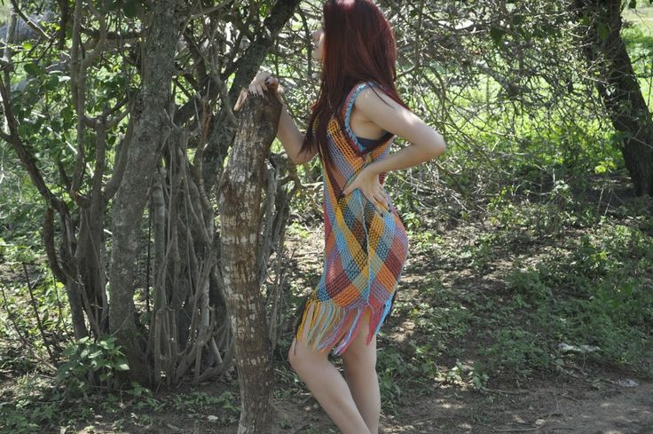 One of the handmade dresses from Buena Onda's Tierra Collection 2014. Click to purchase direct from the Etsy Store! https://www.etsy.com/shop/TheBuenaOnda