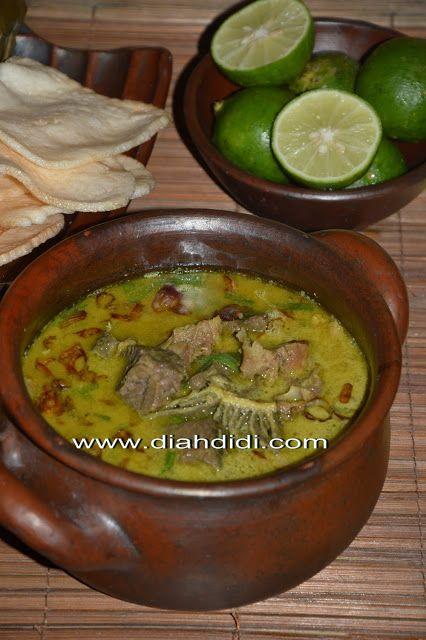 Diah Didi's Kitchen: Inspirasi Menu Buka Puasa hari ke 25..Empal Gentong ( Cirebon )