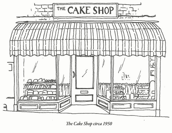 The Cake Shop Bakery Shop Front kind of what I'm going for