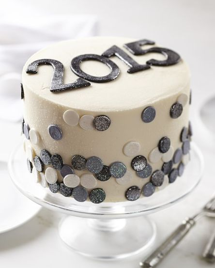 Pin by Marie Weaver on New Year's Eve | Cake, New year's cake, New