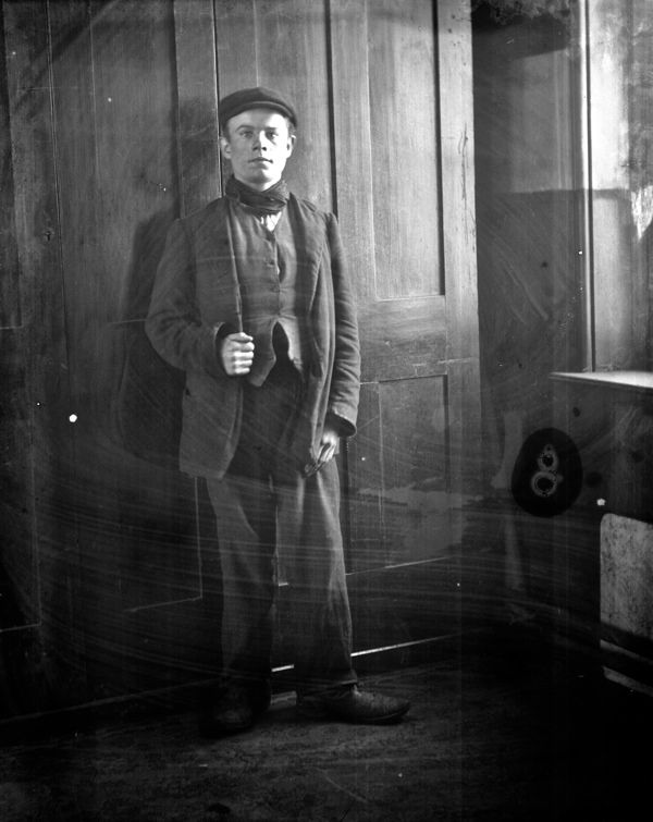 Seen for the first time in over a century, these are a series of portraits taken around 1900 at the Working Lads Institute, known today as the Whitechapel Mission. After my first visit with Colin O'Brien to take portraits at the Mission on Easter Tuesday, I returned this week to select these glass plates from the archive.