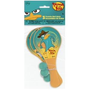Phineas and Ferb Paddle Balls