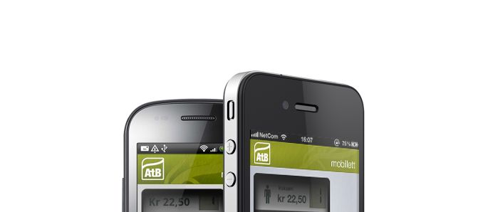 AtB - enkel tilgang til bussruter og påfylling av tkort.