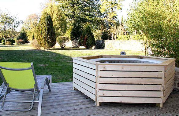 Habillage En Bois Spa Gonflable Intex Aquazendo Spa Gonflable Spa Gonflable Intex Jacuzzi Exterieur Gonflable