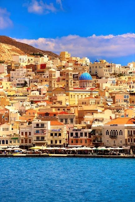 Ermoupolis, Syros, Cyclades Islands, Greece