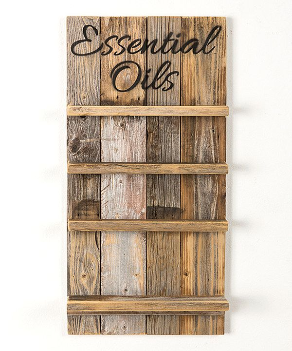 Look at this Natural 'Essential Oils' Rack on #zulily today!