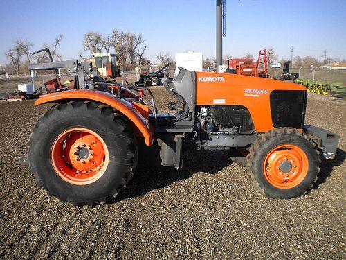 Used Kubota M105S Tractor
