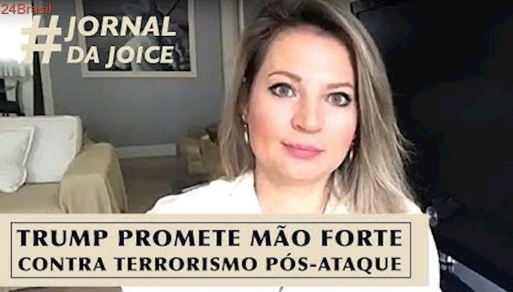TRUMP PROMETE MÃO FORTE CONTRA TERRORISMO PÓS-ATAQUE
