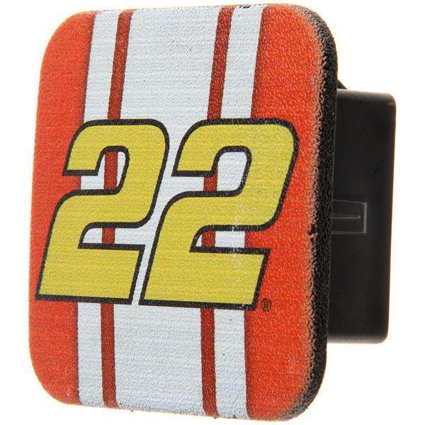 Joey Logano Rubber Trailer Hitch Cover - $8.99