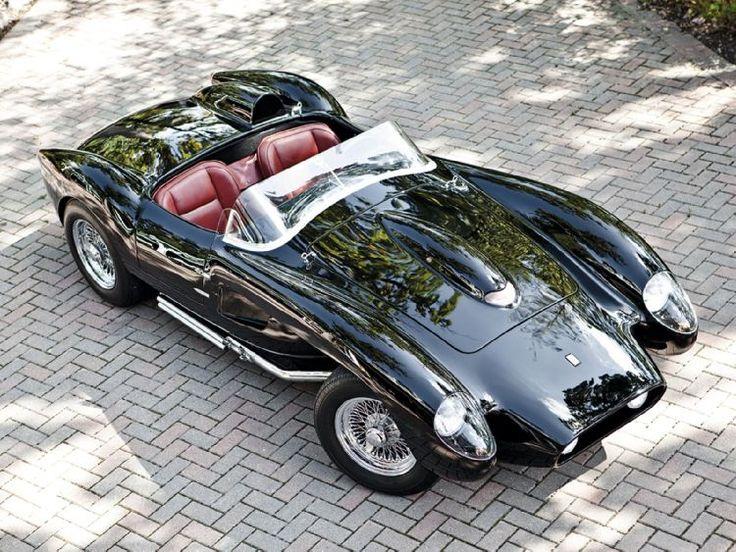 1958 ferrari testa rossa convertible. Luxury sports car. Roadster