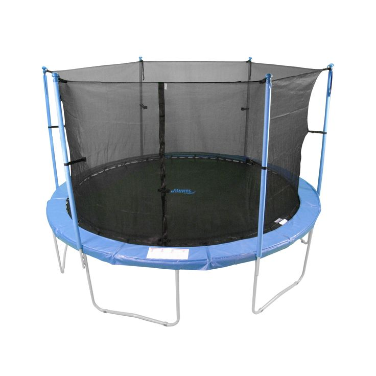 Upper Bounce 6-Pole Trampoline Enclosure Set to Fit 8-Foot Trampoline Frame
