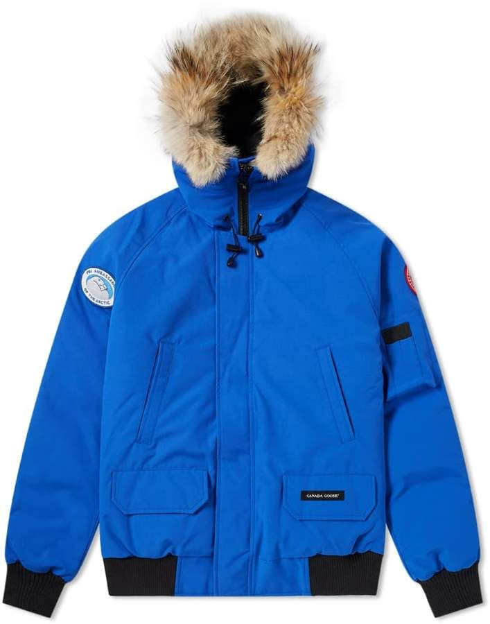 Canada Goose Pbi Chilliwack Bomber Jacket Blue Canada Goose Jackets from Lyst | more