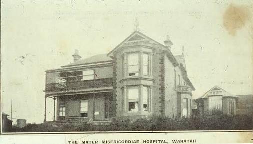Mater hospltal Waratah c 1925