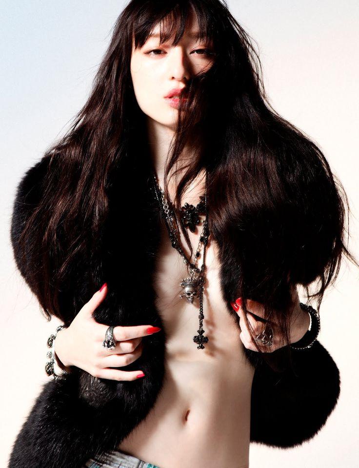 Fashion|Mode|Photography - In Bloom| Chiaki Kuriyama by Susumu Nagahiro for SVA Winter 2011!