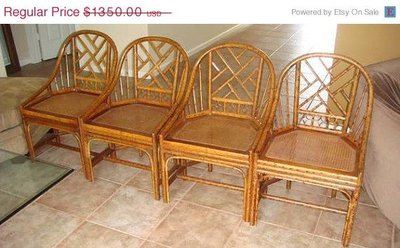 214 Best Images About Vintage Rattan Chairs On Pinterest More Modern Dining