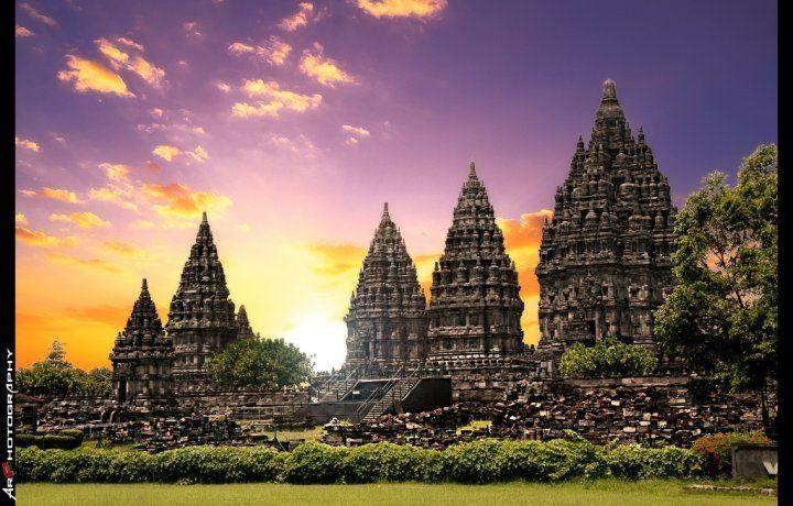 Prambanan Temple, Sleman, Special District of Yogyakarta, Indonesia ♥