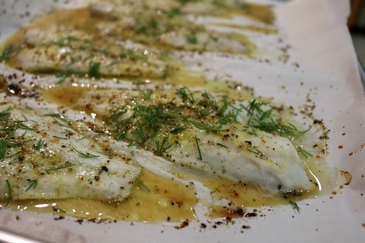 Easy Oven Baked Flounder - Simple Recipe for Baked Fish www.ceceliasgoodstuff.com