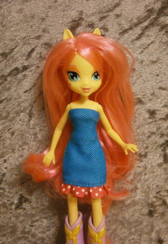 Dress for My little pony equestria girls dolls by moonsight68, $6.50
