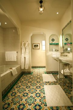 Bathroom In Spanish 232 best spanish revival baths images on pinterest | spanish