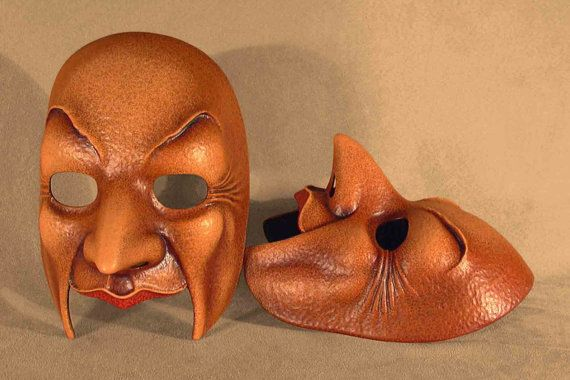 Housekeeper         Old Man Mask by Piratemask on Etsy, $77.00