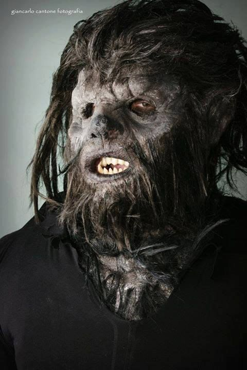 Lupo mannaro/Werewolf mask by RJPellegrinofx on Etsy