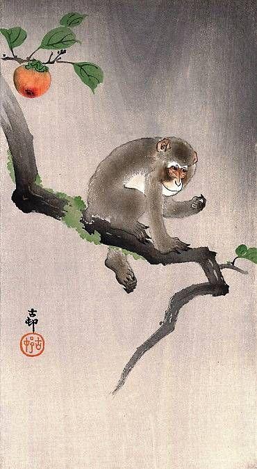 Японская живопись кате-га катё-э - жанр гравюры с изображениями птиц и цветов