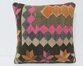 aztec pillow cover 18x18 moroccan style floor cushions bohemian cushion cover kilim pillow cover handmade pillow bohemian pillow cover 26087