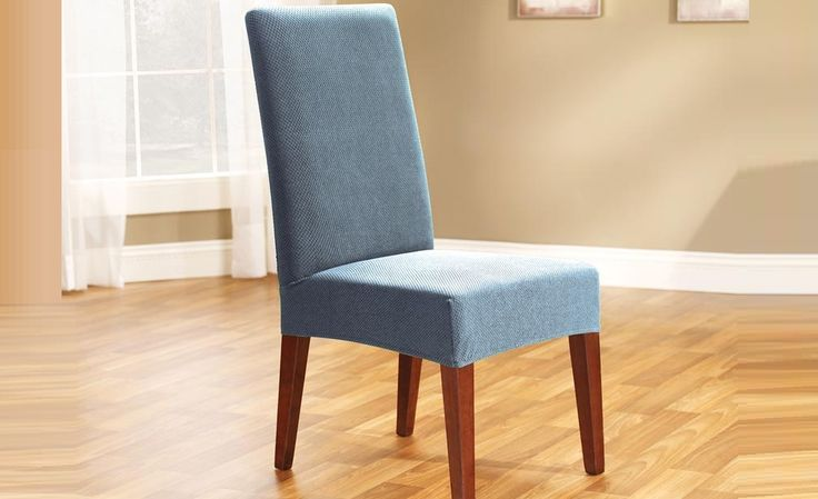 Federal Blue Pearson Dining Chair Cover by Sure Fit