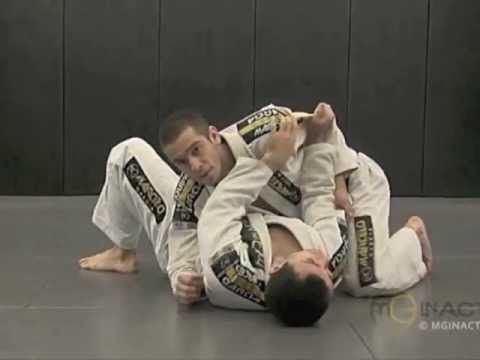 Side Control Escape #2 - ELBOW PUSH with Marcelo Garcia - YouTube