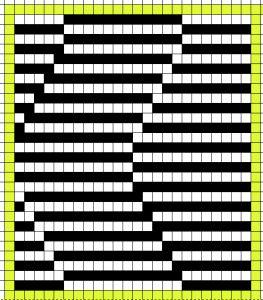 shadow knitting_color separation_ Gimp