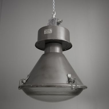 imposing industrial czech factory lights with steel and glass