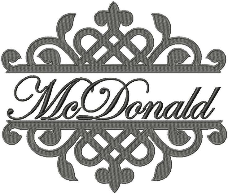 machine embroidery design trellis name frame 8x9 7x6 and 6x5 by blingsasssparkle on etsy - Name Frame