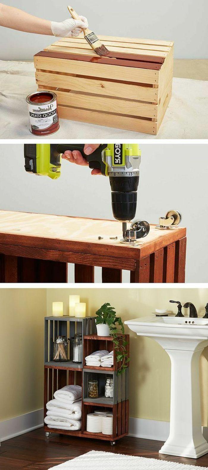 Faire Fabriquer Un Meuble ▷1001+ idées et tutos pour fabriquer un meuble en cagette