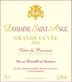 Les vins   Domaine Saint Ange