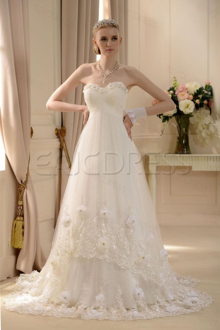 Amazing Empire Sweetheart Floor-length Court Wedding Dress Wedding Dresses 2014- ericdress.com 10574909