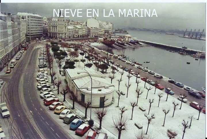 La marina. La Coruña