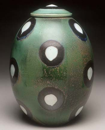 David Crane pottery at MudFire Gallery