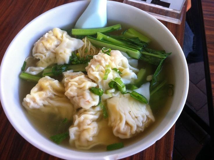 Wonton noodle soup. | Just eat it | Pinterest