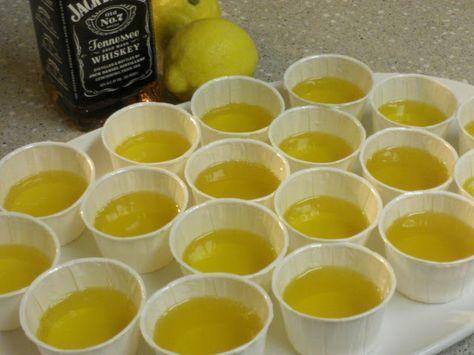 Baker Becky: Lynchburg Lemonade Jello Shots
