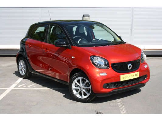 used 2015 15 reg red smart forfour hatchback 1 0 passion 5dr for sale on rac cars smart car. Black Bedroom Furniture Sets. Home Design Ideas